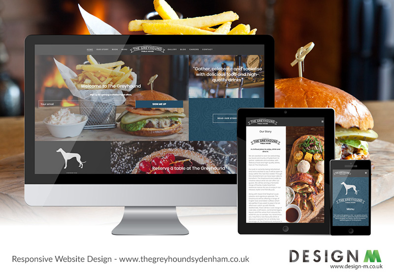 Design M | Website Design | Hospitality Industry